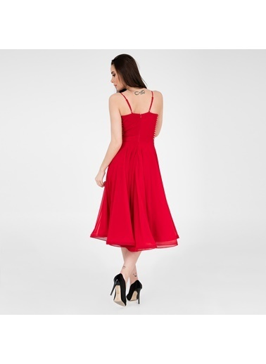 Trend Elbise Kırmızı